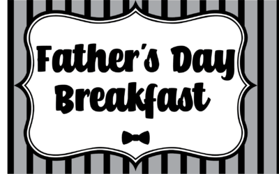 Father's Day Breakfast 2019